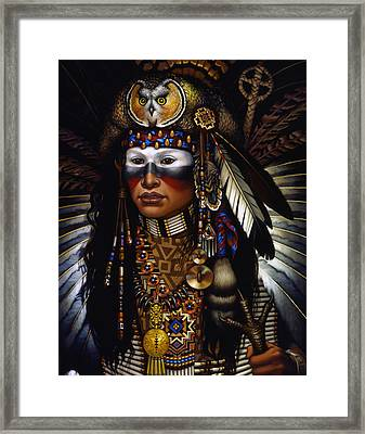 Eagle Claw Framed Print