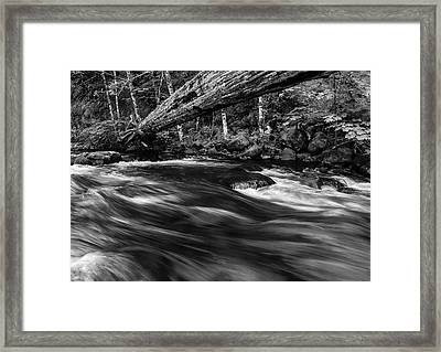 Eagle Creek  Framed Print