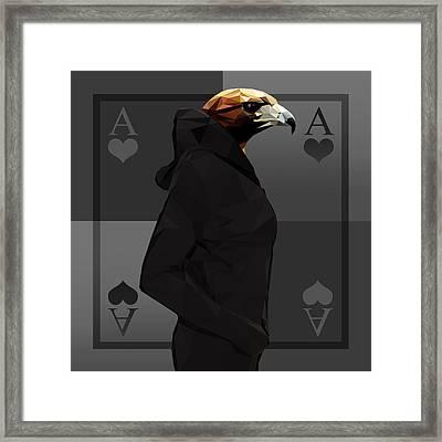 Eagle Framed Print by Gallini Design
