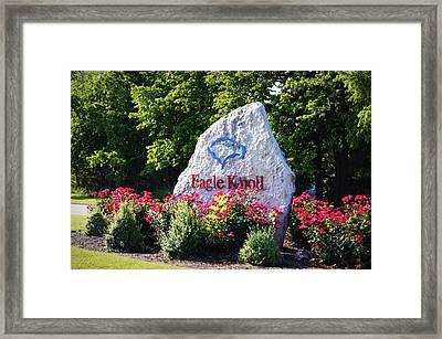 Eagle Knoll Framed Print
