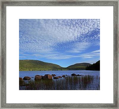 Eagle Lake Framed Print by Jerry LoFaro