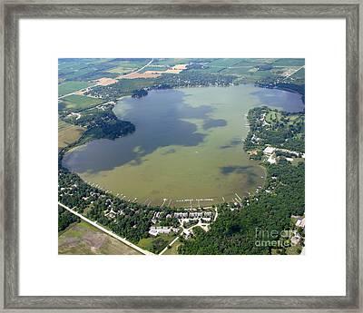 Eagle Lake Wisconsin Framed Print