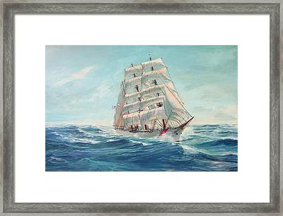 Sailing Eagle Framed Print