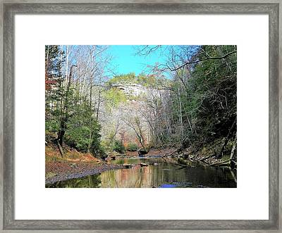 Eagle Point Buttress Framed Print