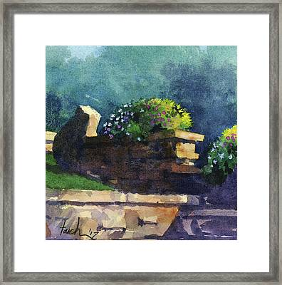 Eagle Point Planter Framed Print