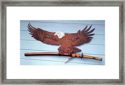 Eagle Sold   Framed Print by Steve Mudge