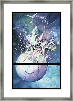 Eagle Spirit Dance Framed Print