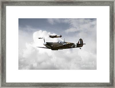 Eagle Squadron Framed Print