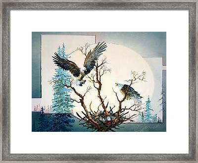 Eagles Nest Framed Print