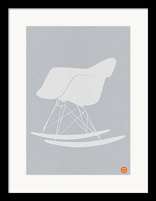 Mid Century Design Framed Prints