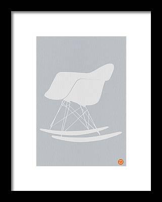 Eames Chair Framed Prints