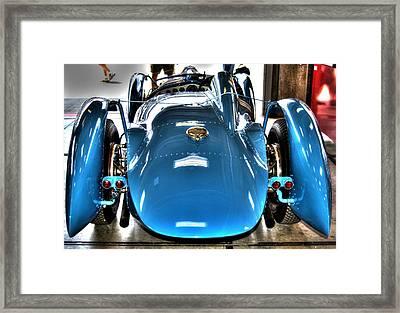 1937 Delahaye Type 145 Framed Print