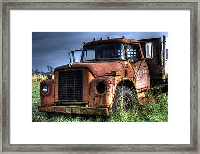 Framed Print featuring the photograph Earl Latsha Lumber Company Version 3 by Shelley Neff