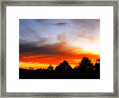Earlier Framed Print by Adam Cornelison