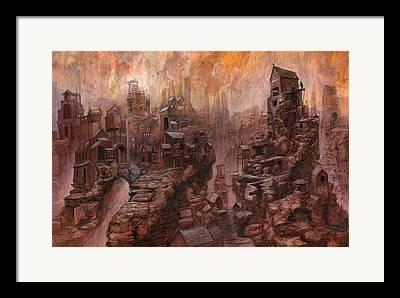 Lost Civilization Framed Prints