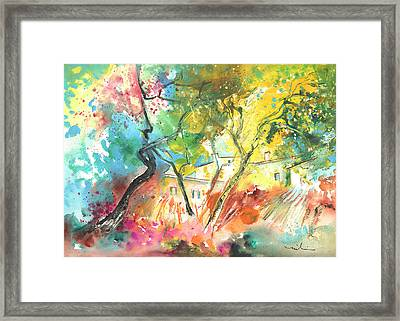 Early Afternoon 26 Framed Print by Miki De Goodaboom