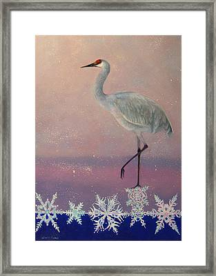 Early Arrival Framed Print by Valerie Aune
