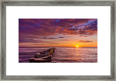 Early Atwater Burst Framed Print by Andrew Slater