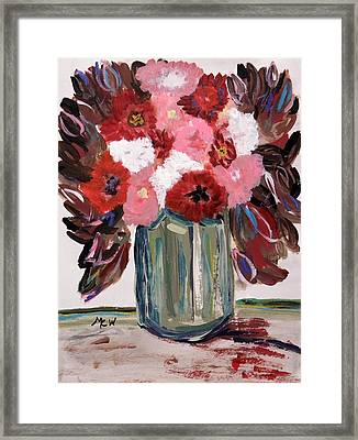 Early Autumn Bouquet Framed Print