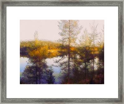 Early Autumn In Finland Framed Print