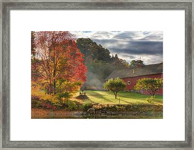 Early Autumn Morning Framed Print by Bill Wakeley