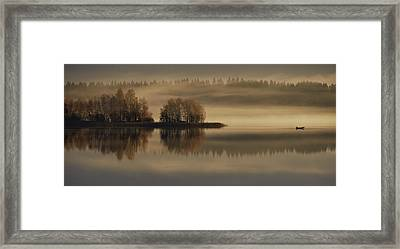 Early Autumn Morning Framed Print by Pekka Ilari T