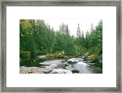 Early Autumn On The Madawaska River Framed Print