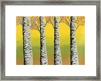 Early Autumn Framed Print