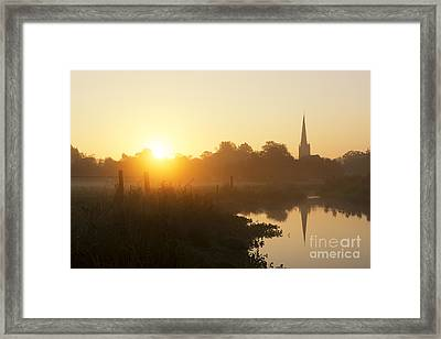 Early Autumn Framed Print by Tim Gainey