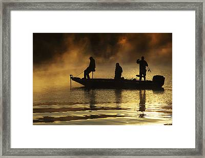 Early Casting Call Framed Print