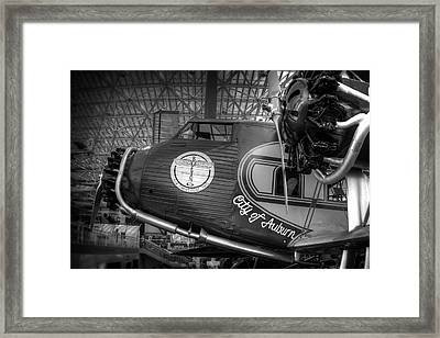Early Commercial Passenger Aircraft C. 1930 Framed Print by Daniel Hagerman