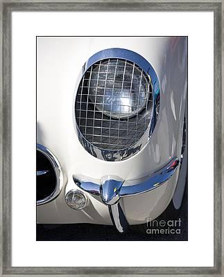 Early Corvette Framed Print