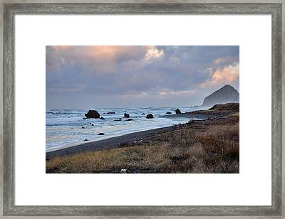 Early December Morning Framed Print