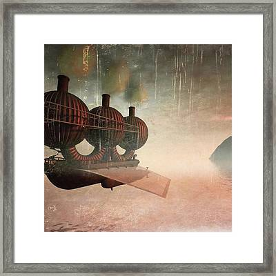 Early Departure - A Piece Of Work From Framed Print by John Edwards