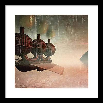 Steampunk Framed Prints