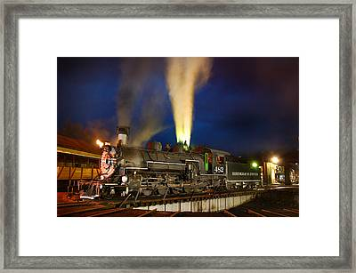 Early Evening On The Turntable Framed Print by Ken Smith