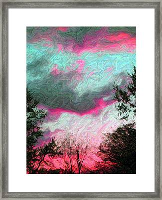 Framed Print featuring the photograph Early Evening by Susan Carella