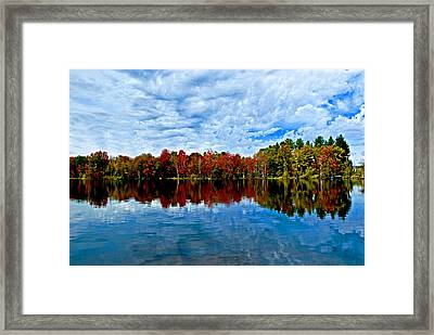 Early Fall Colors. New York Framed Print