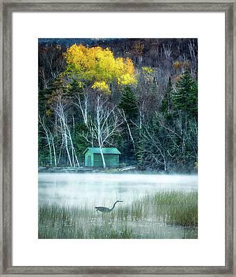 Early Fishing Framed Print