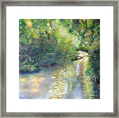 Early Glow Framed Print by Lucinda  Hansen