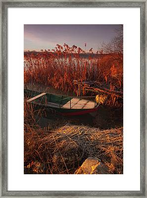 Early In The Morning Framed Print