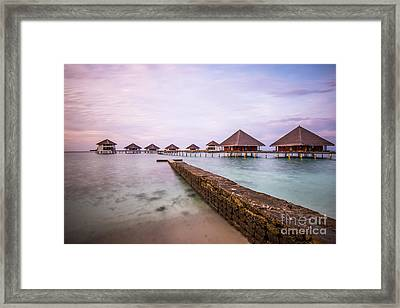 Framed Print featuring the photograph Early In The Morning by Hannes Cmarits