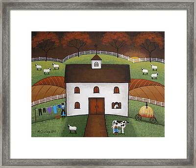 Early Light Framed Print by Mary Charles