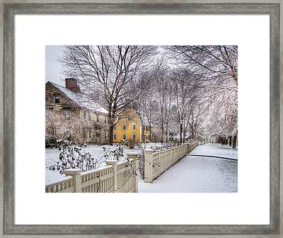 Early Massachusetts Framed Print
