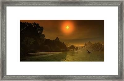 Early Mist Framed Print