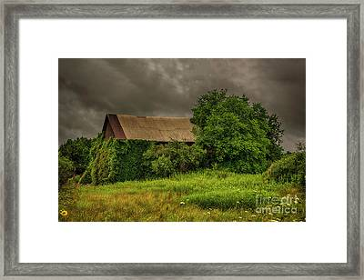 Early Monring Rain Framed Print by JRP Photography