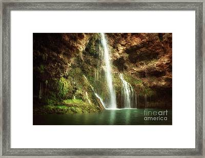 Early Morning At Dripping Springs Framed Print by Tamyra Ayles