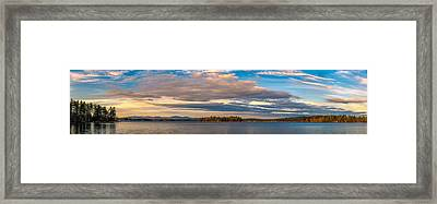 Early Morning At Lake Wentworth Framed Print