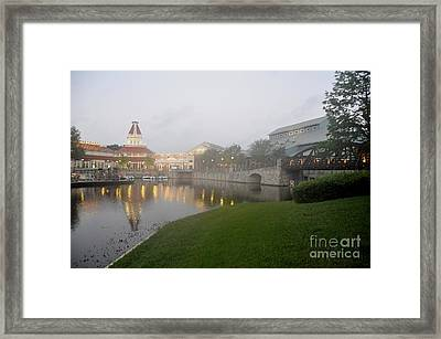 Early Morning At Port Orleans Riverside Framed Print