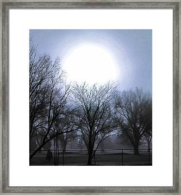 Early Morning At The Golf Course Framed Print